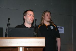 Hendrik Schmidt et Brian Butterly  d'ERNW